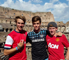 temba students in coliseum